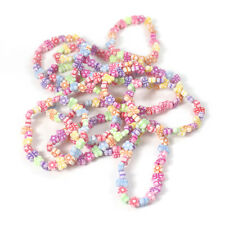 12 Pretty Bead Bracelet Girls Bag Filler Children's Birthday Party Favour 12P