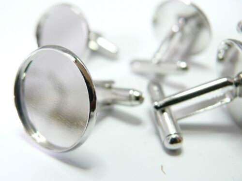 6 supports Boutons de manchettes 18mm