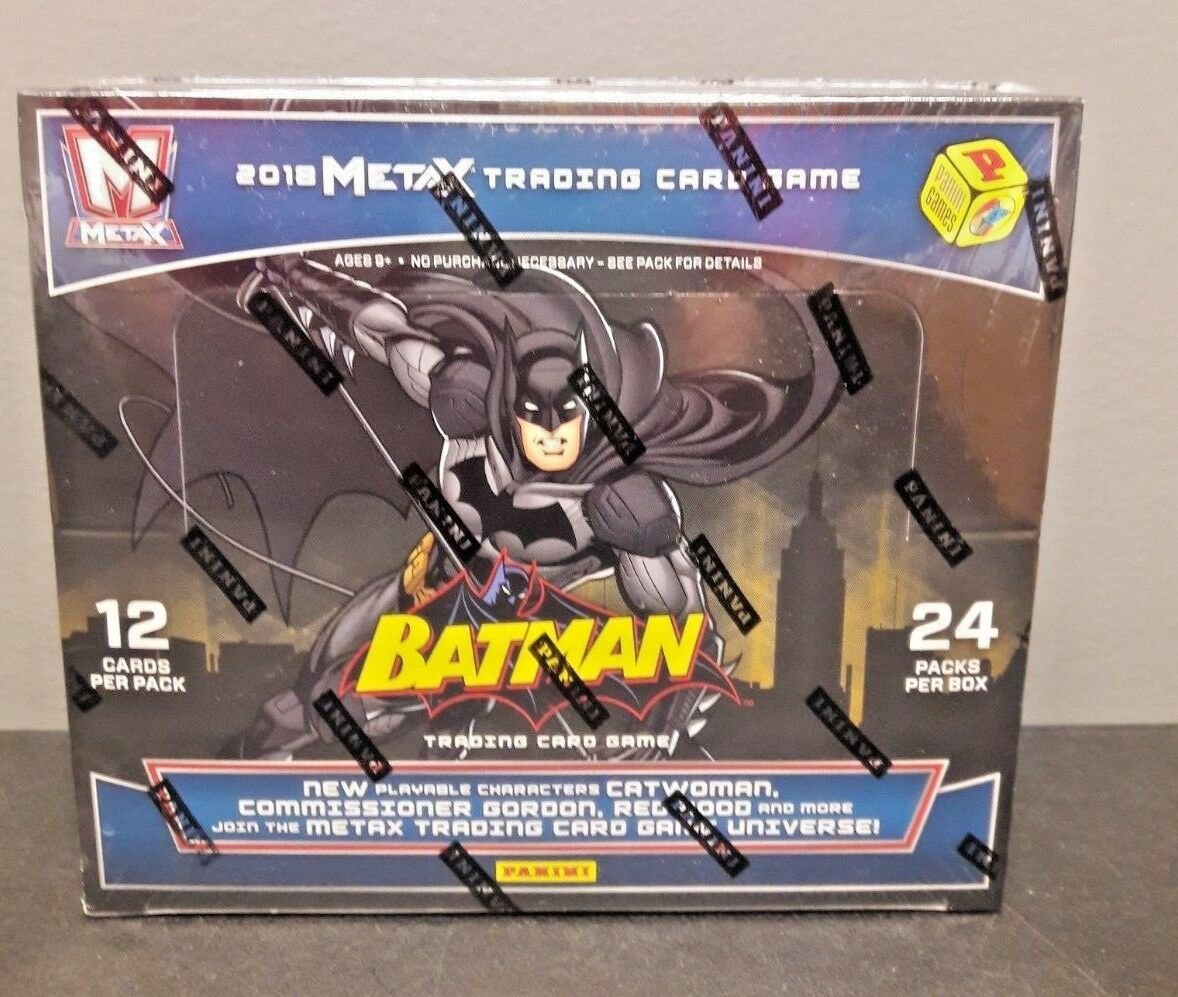 2018 PANINI META X BATMAN TRADING CARD GAME SEALED BOOSTER NEW TC1