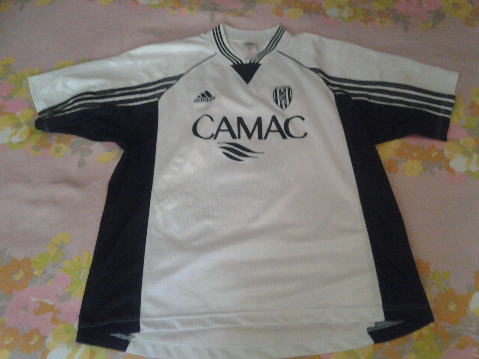 TRESOLDI shirt CESENA 1999-00 ADIDAS maillot match worn maglia camiseta Spain XL
