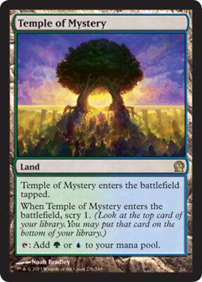Temple of Mystery 1x x1 Theros Near Mint English -BFG- MTG Magic