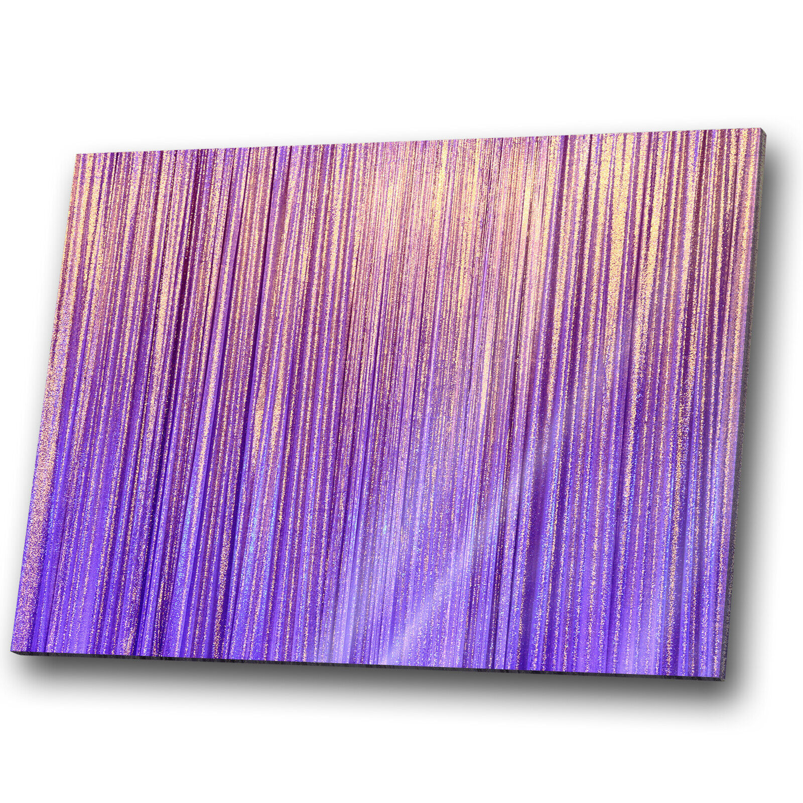 Gelb lila Cool Funky Abstract Canvas Wall Art Large Picture Prints