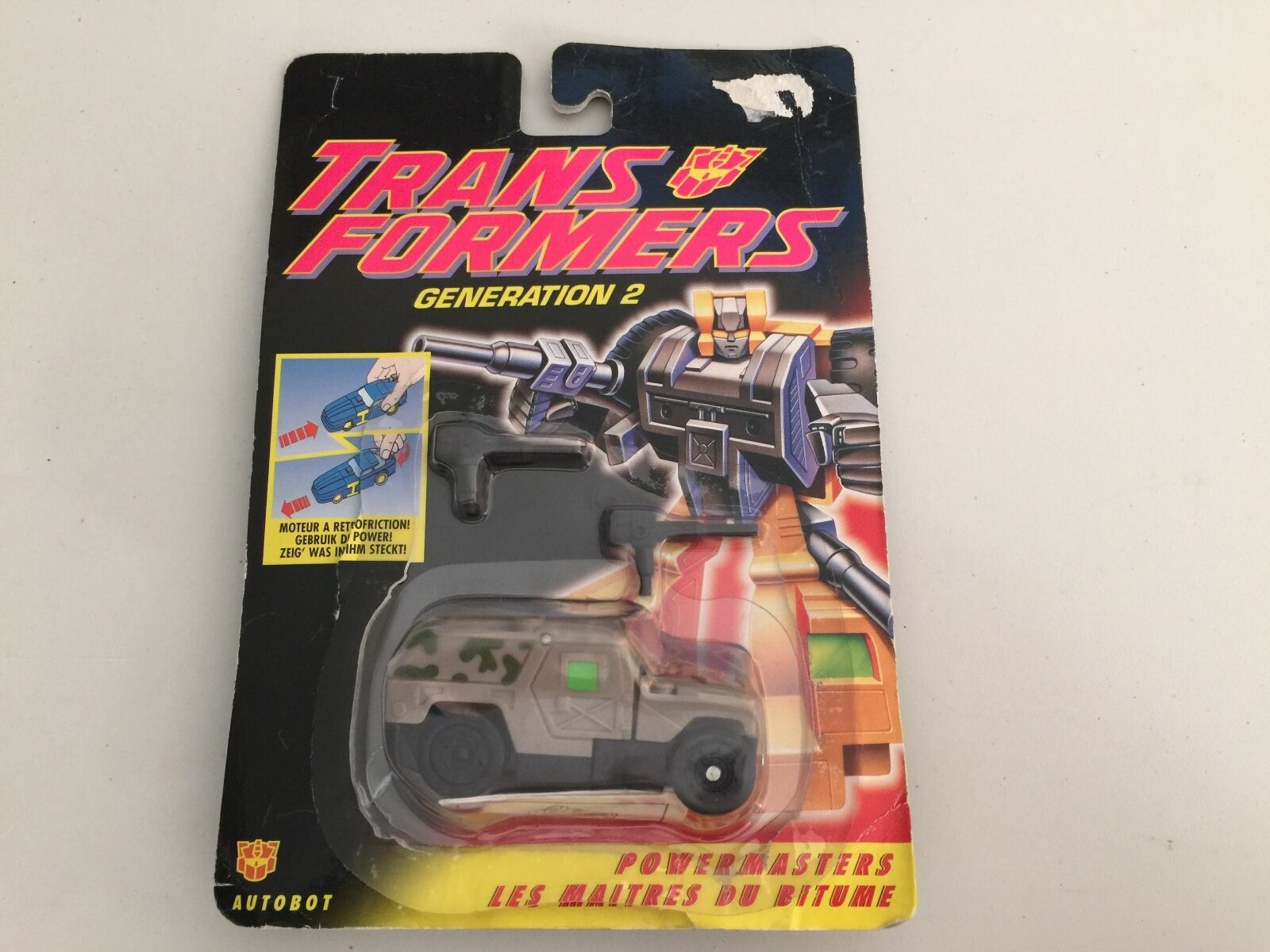 Transformers  G2 1994 Ironhide Comme neuf on voitured complet powermasters Figure Européenne Hasbro  bienvenue à choisir