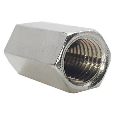 Coupling Nuts 5//16-24 x 7//8 Long Fine Thread Hex Coupling Nut with Zinc Plate Hex Coupling Nut Hex Rod Coupling Nut 8 Hex Coupling Nuts 5//16-24 x 7//8 Threaded Rod Connector