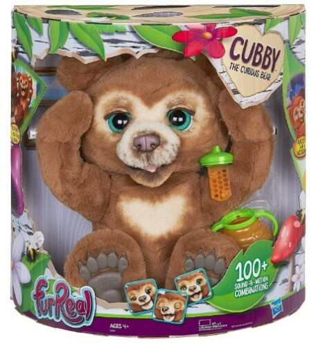 The Curious Bear Interactive Plush Toy Free Shipping furReal Cubby