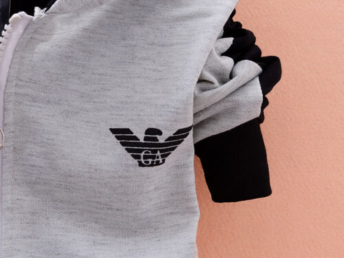 2020 UK Long Sleeves Tracksuit Sweater 2pcs Boys Clothing Outfits Hat Set Warm