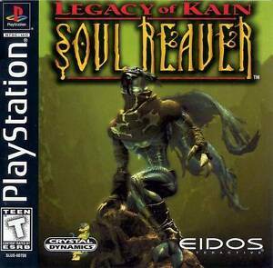 Legacy-Of-Kain-Soul-Reaver-PS1-Great-Condition-Fast-Shipping