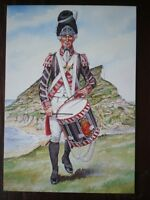 POSTCARD DRUMMER THE 50TH (WEST KENT) REGIMENT OF FOOT 1792 -