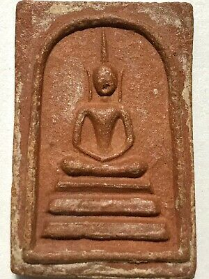 PHRA LP SUANG RARE OLD THAI BUDDHA AMULET PENDANT MAGIC ANCIENT IDOL#23