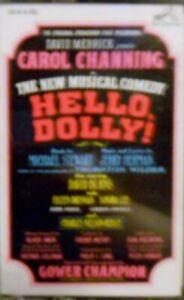 Hello-Dolly-Original-Broadway-Cast-Cassette-NEW
