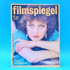 DDR Filmspiegel 4/1989 Otto Waalkes Tom Pauls Lothar Bisky Cary Grant Casares G
