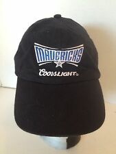 Dallas Mavericks Coors Light Black & Blue W/Embroidery Adjustable Baseball Cap