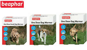 BEAPHAR-ONE-DOSE-WORMER-DOG-TREATMENT-WORMING-TABLETS-SMALL-MEDIUM-LARGE-DOGS