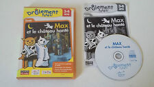 MAX ET LE CHATEAU HANTE - PC - JEU PC EVEIL COMPLET - DRÔLEMENT FUTES