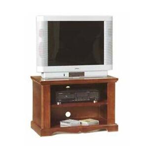 Mobile Porta Tv Legno Arte Povera.Mobile Porta Tv In Legno 75 40 51 H Con 2 Vani A Giorno Noce