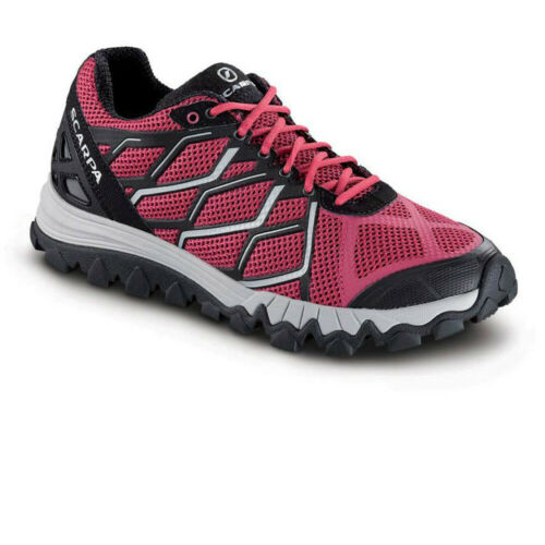 Scarpa Womens Proton Trail Running Shoes Trainers Sneakers Pink Sports