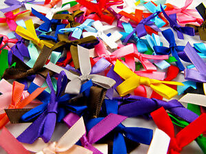 Satin-Ribbon-Bows-Assorted-Colours-and-Quantities-Double-Sided-Satin