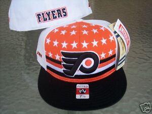 2c74c126187 Image is loading Philadelphia-Flyers-hat-NHL-Vintage-Fitted-7-1-