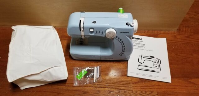 Kenmore Mini Ultra Model 40 Sewing Machine Baby Blue No Pedal EBay Enchanting Blue Kenmore Sewing Machine