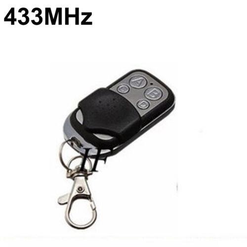 RF Remote Control 1//2//3//4CH Key Garage Gate Door Transmitter Wireless 315//433MHz