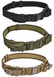 NcStar-Tactical-Belt-Rig-w-QD-amp-2-Pistol-Mag-Pouch-Battle-Combat-Police-SWAT