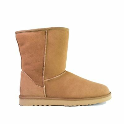 UGG Men Large Size Boots Short Classic, Premium Australian Double Face Sheepskin