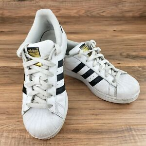 adidas Superstar White with Blue