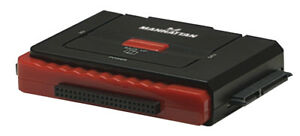 Ordentlich Manhattan Usb 2.0 Auf Sata/ide Adapter 3in1 One-touch-backup Kabel & Steckverbinder