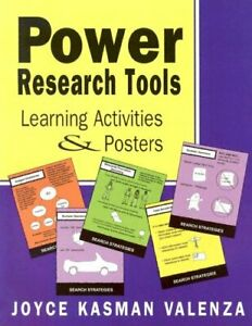 Power Research Tools Learning Activities Posters 9780838908389 Ebay