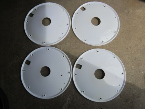 NOS 20 Inch Disc Wheel Covers For Old School BMX Bike Bicycle White
