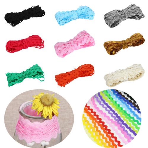 25M//set 5MM wide S edge waves Lace ribbon Grosgrain Ribbon for hair bow