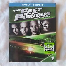 The Fast and the Furious Blu-ray Disc 2017 2-Disc Set Includes HD Digital Copy