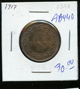 1917-Canada-Large-Cent-MS63-Red-and-Brown-DC335