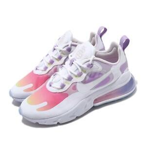 Details about Nike Wmns Air Max 270 React Multi-Color White Pink Purple  Women Shoes CU2995-911