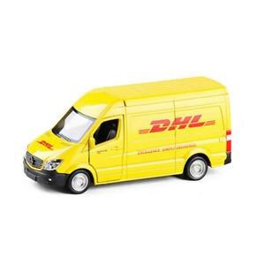 Mercedes-Benz-Sprinter-DHL-Express-Van-1-36-Car-Model-Metal-Diecast-Toy-Vehicle