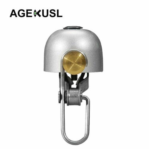 AGEKUSL Bike Bell Handlebar Ring Horn For Brompton Dahon Folding Bicycle Mini