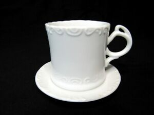 Maryland China Fine White Tea Cup and Saucer Japan