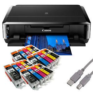 Canon PIXMA IP7250 Tintenstrahldrucker mit WLAN USB CD/DVD ...