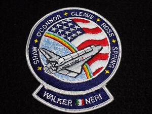 Oficial-Nasa-61-B-1985-Parche-Espacio-Shuttle-4-034-con-Plancha