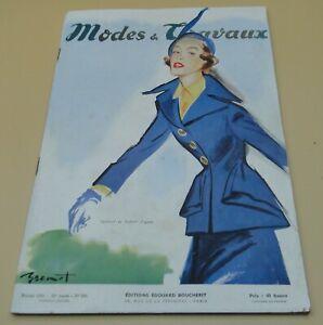 Magazine Modes & Travaux février 1950