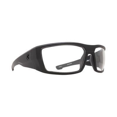 e78f97fc8608 Spy Optic Dirk Matte Black ANSI Clear Sunglasses 672052243094 for ...