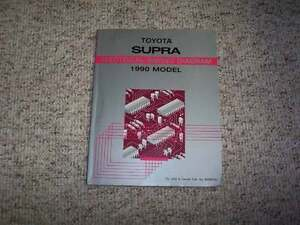 1990 toyota celica wiring diagram 1990 toyota supra electrical wiring diagram manual std ...
