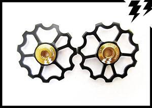 MT-Zoom-Negro-Ultralight-Cojinete-Ceramica-Cambio-Marchas-11-DIENTES-JOCKEY