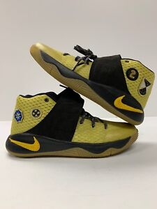 da48bbea06ee NIKE KYRIE 2 ALL STAR GAME PATCH UNRELEASED 835943-307 CELERY MAIZE ...