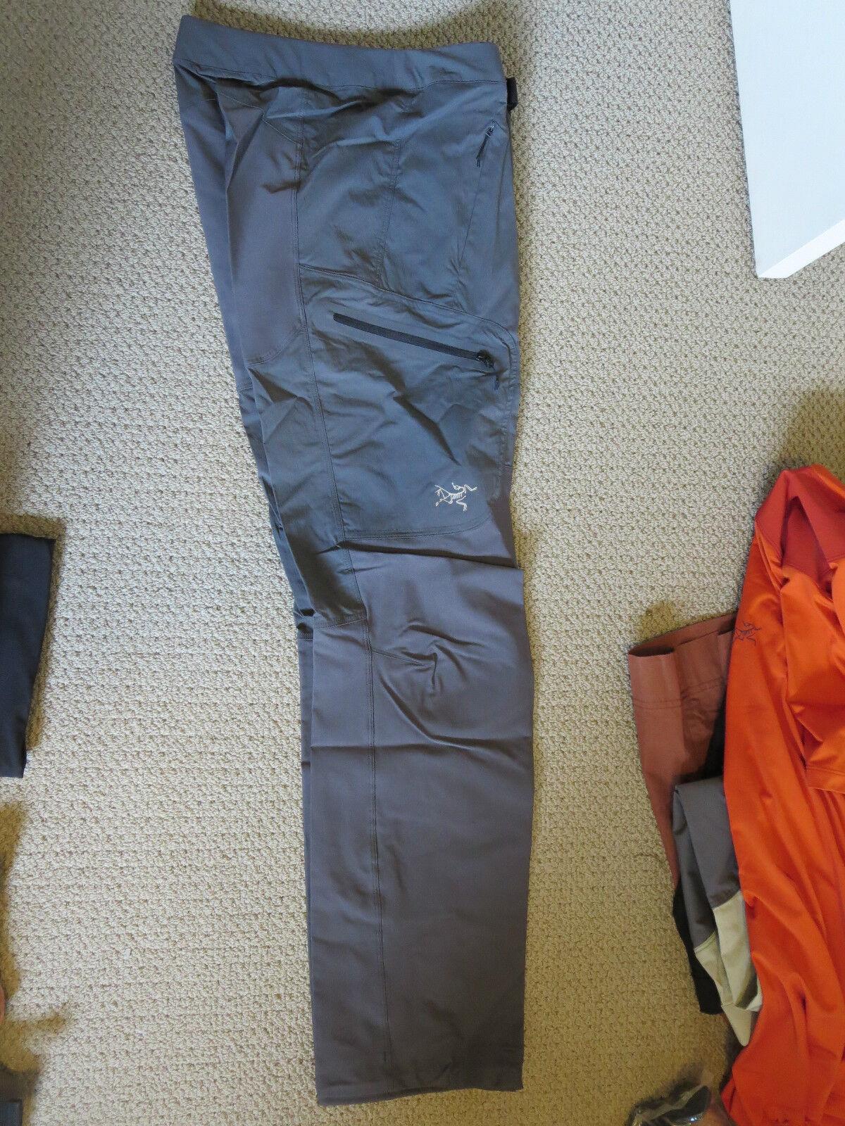 Womens New Arcteryx Gamma SL Hybrid  Pants Size 6 color Iron Anvil