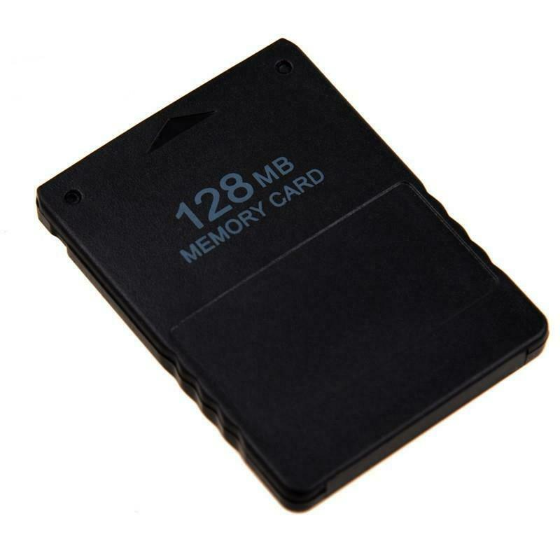 128MB PS2 Memory Card Game Save Data Stick for Sony Playstation 2