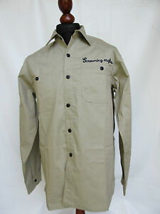 US-101st-AIRBORNE-DIVISION-ft-CAMPBELL-SCREAMING-Aguila-Tour-Camisa-WK2-talla-M