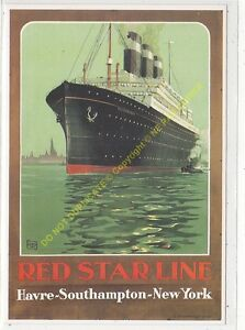 CP Poster Red STAR Line Edit Clouet 10157