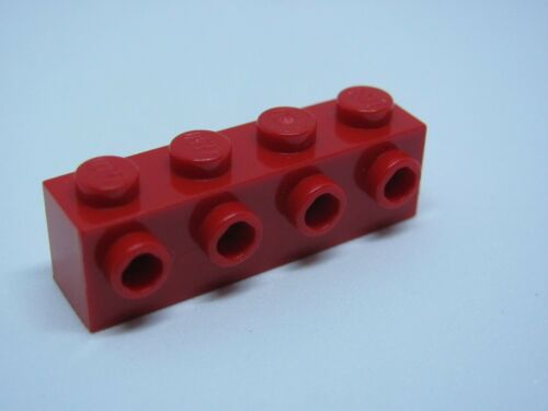 LEGO 30414 @@ Brick, Modified 4 Studs on 1 Side - Red 4207 5984 6240 9493