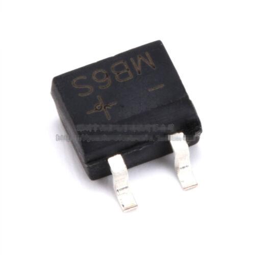 10Pcs MB6S SOP-4 0.5A 500mA 600V Diode Bridge Rectifier 4PINS